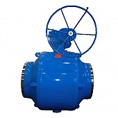 District heating plant ball valves