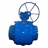 District heating plant ball valves